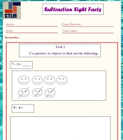 13. Subtraction Strategies - Count and Subtract