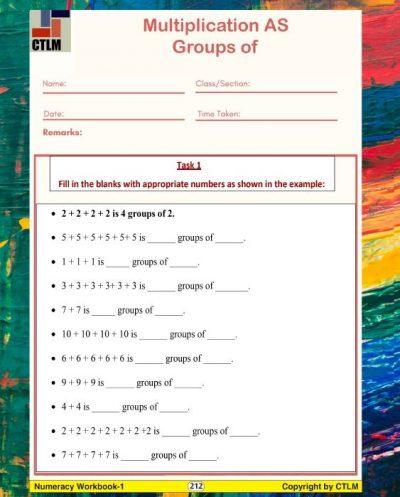 18. Multiplication Model - Groups Of