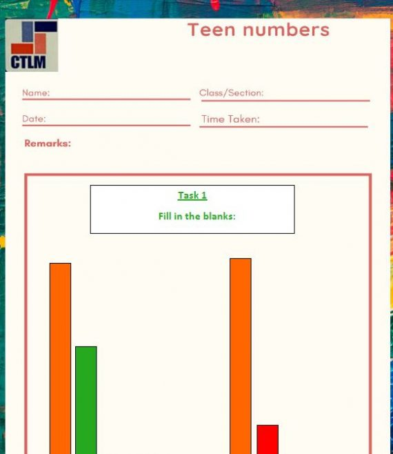 3. Number Concept - Teen Numbers