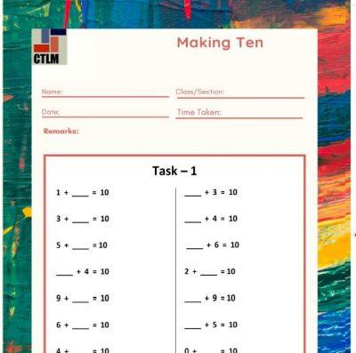 7. Additive Reasoning - Making Ten