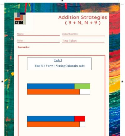9. Additive Reasoning - Ten's and One's
